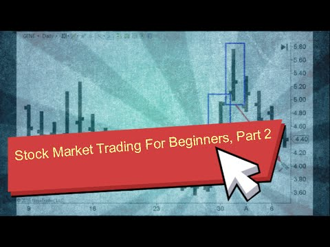 Stock Market Trading For Beginners Part 2