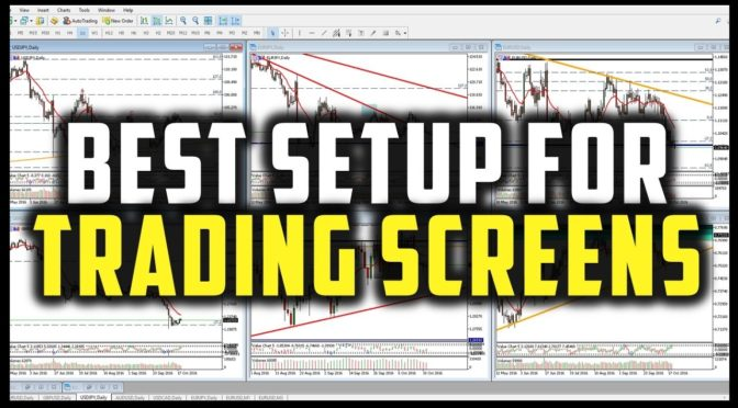 BEST WAY TO ORGANISE YOUR TRADING SCREENS/CHARTS IN METATRADER (M…