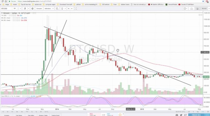 Bitcoin technical analysis #13 – Stage of denial (bubble)