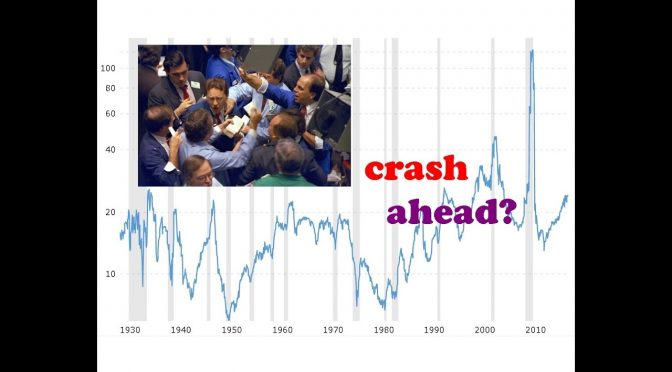 Can this technical indicator predict a stock market crash? // p/e…