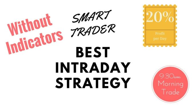 Best Intraday Strategy without any Indicators upto 20% Profit per…