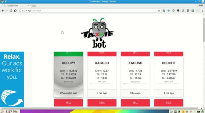 TazzieBot – Free forex signals
