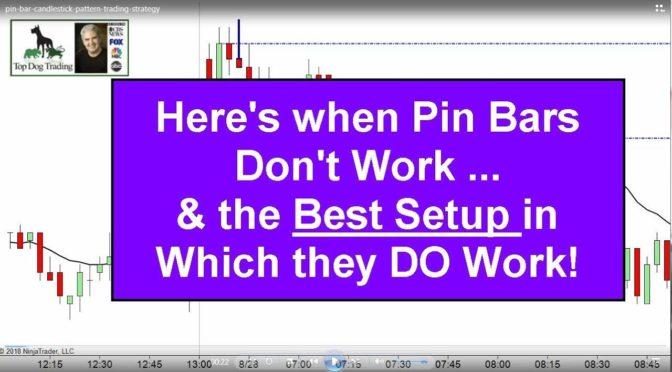 Pin Bar Candlestick Pattern Trading Strategy
