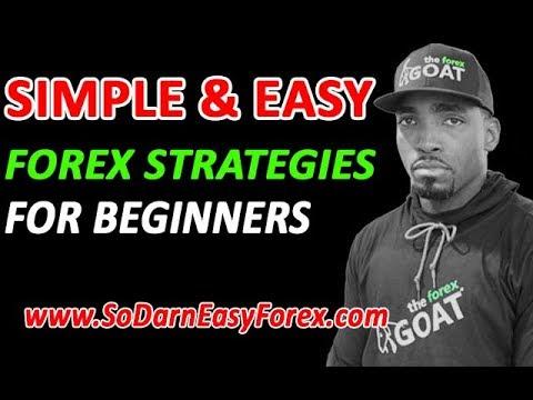 Simple & Easy Forex Strategies For Beginners – So Darn Easy Forex…