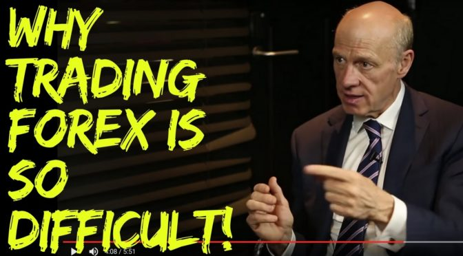 Is forex trading difficult
