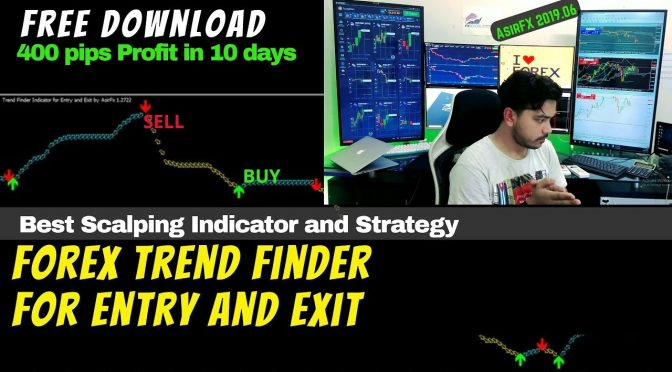 Profitable Forex Trend Finder Indicator For Entry And Exit Best